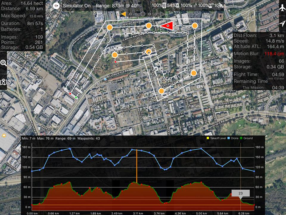 Linear Flight Planning – Drones Made Easy on