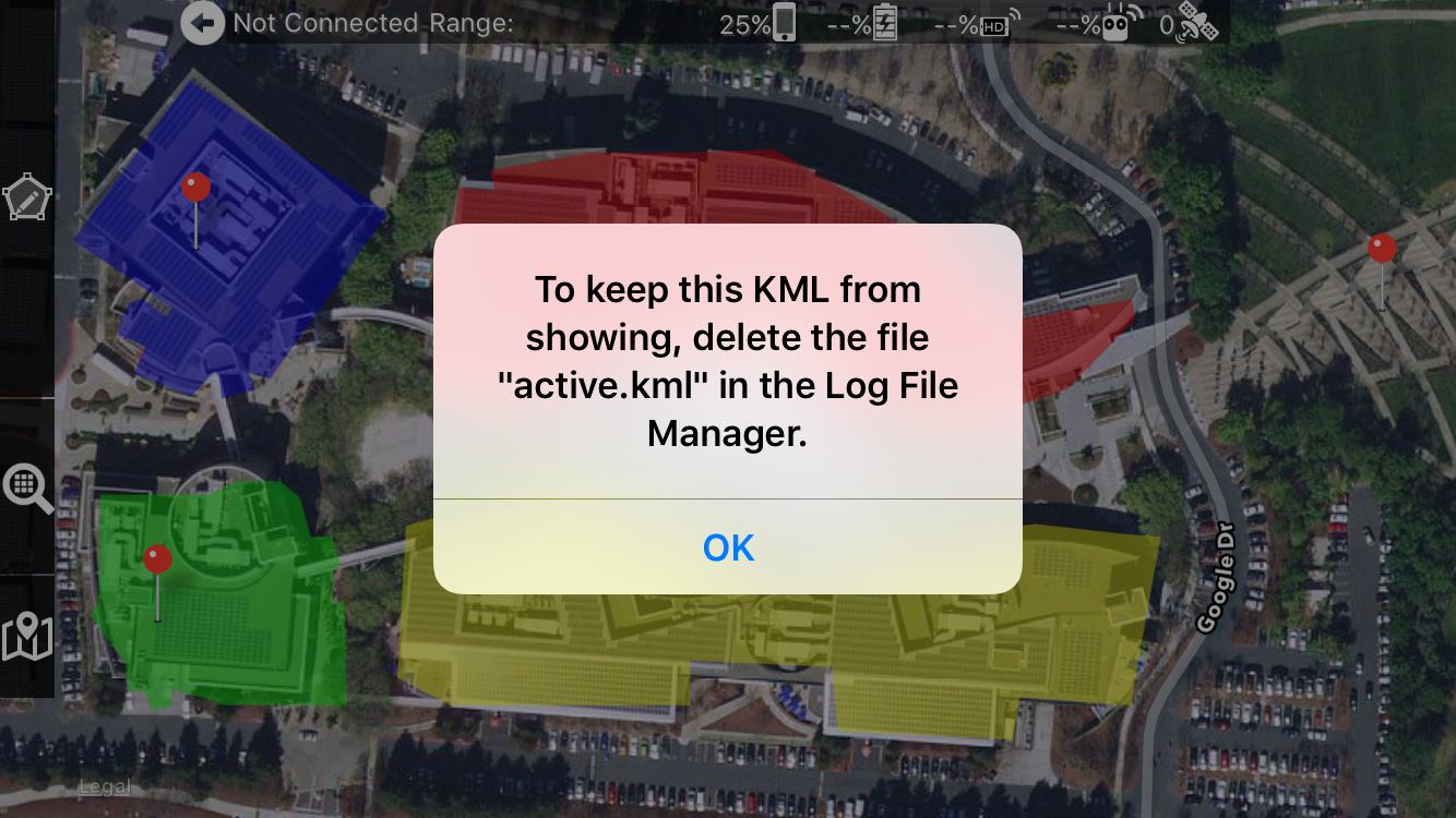 Opening a KML from Email – Drones Made Easy