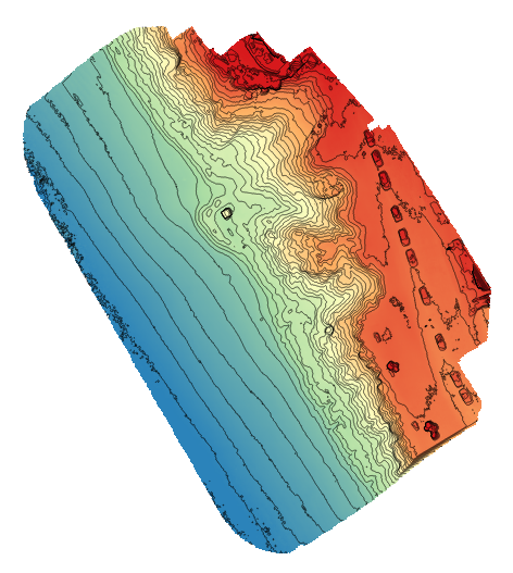Using QGIS to make custom Contour Maps – Drones Made Easy