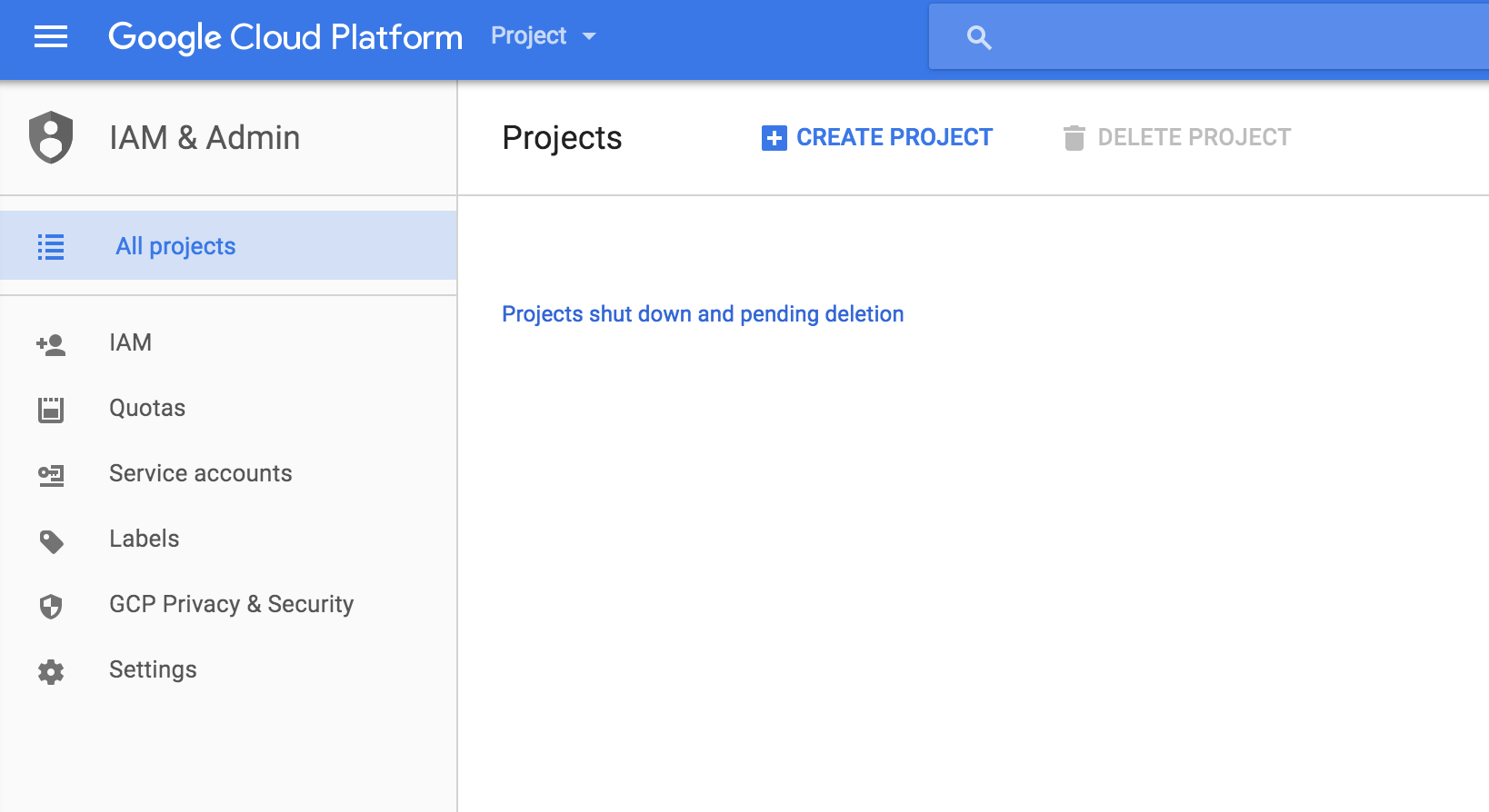 Google Cloud Storage - Console Setup – Drones Made Easy